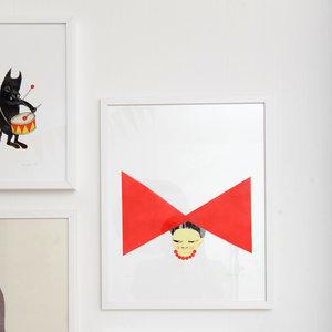 Art Print Rosett